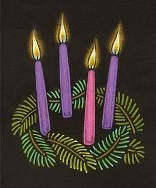 Advent Wreath Lighting for Year B