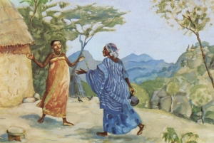 The Visitation - Mary and Elizabeth meet - Luke 1:39-45