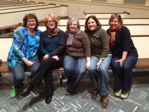 A few of the dear ones RevGalBlogPals brought into my life.