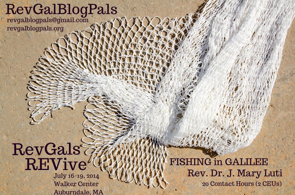 Fishing in Galilee poster
