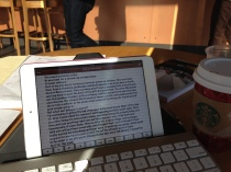 My office at Starbucks.
