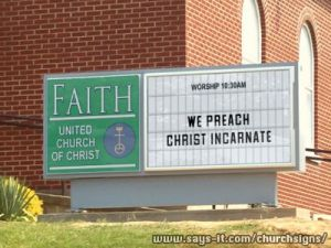 We preach christ incarnate