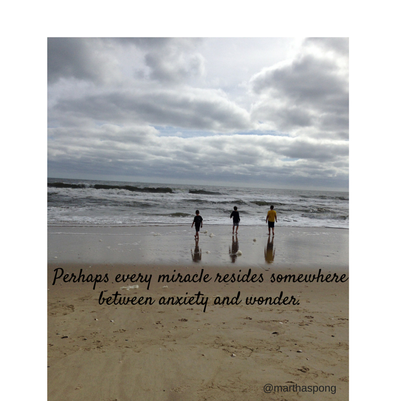 Perhaps every miracle resides somewhere
