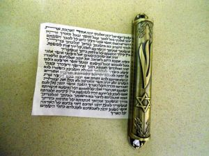 Mezuzah - NL Year 2, Week 5 - Deuteronomy 5:1-21, 6:4-9