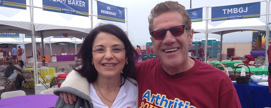 Glenn Frey at an Arthritis Foundation Walk in 2013.
