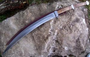 A rhomphaia, the kind of sword Simeon names.