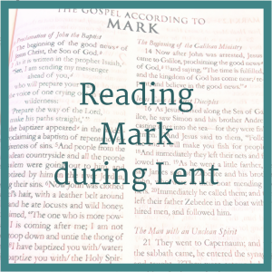 Reading Mark duringLent